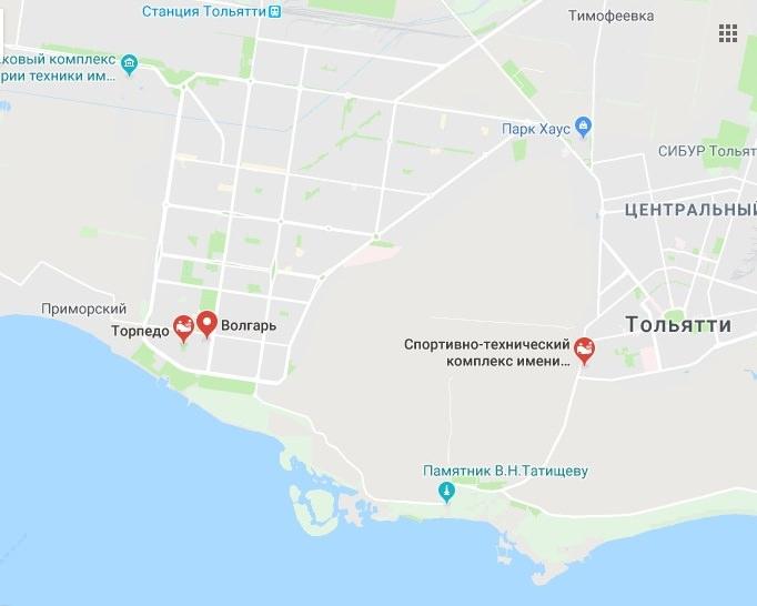 Стадіон Торпедо в Тольятті: опис, адреса