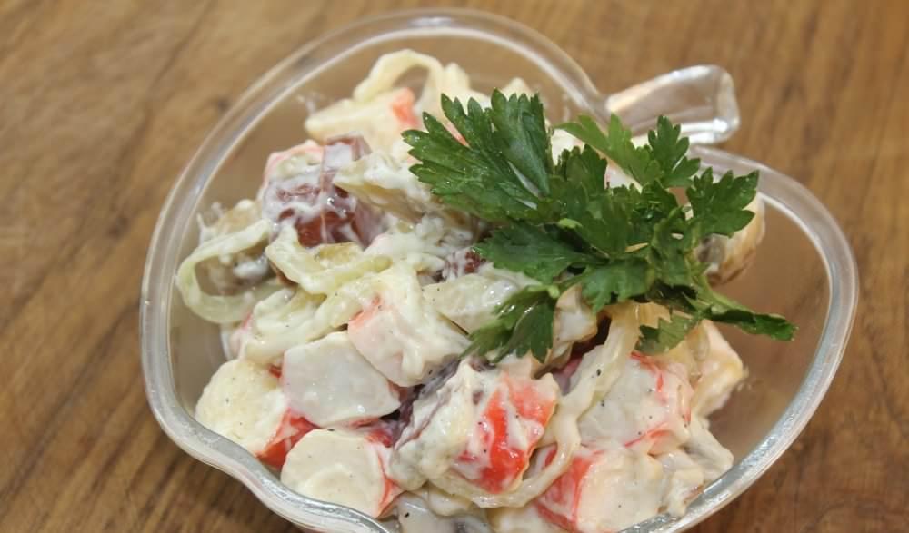 Грибний салат: способи приготування