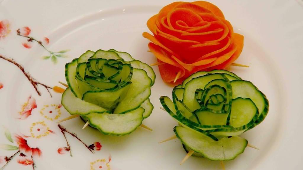 Овочеві нарізки: смачно і красиво