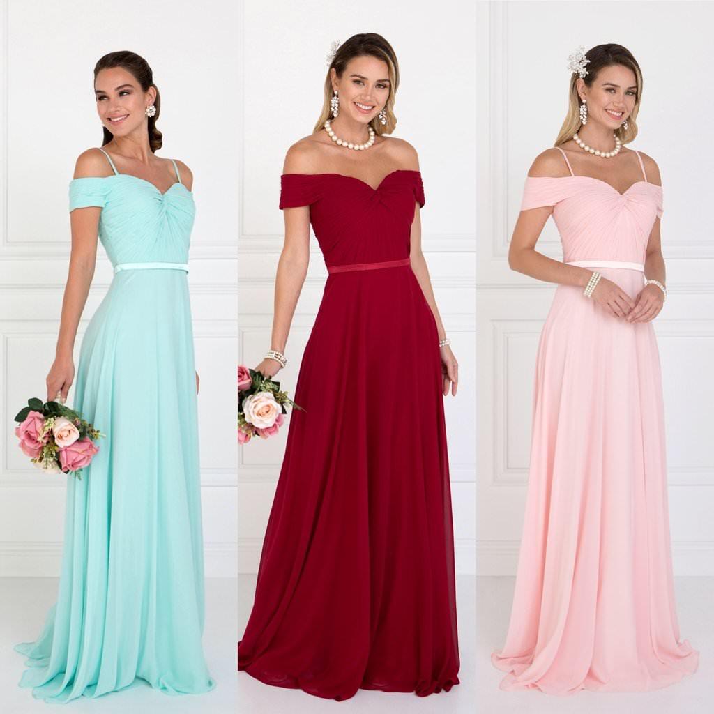 95a8194d382fb5 Сукні для подружок нареченої: фото фасонів в різних кольорах