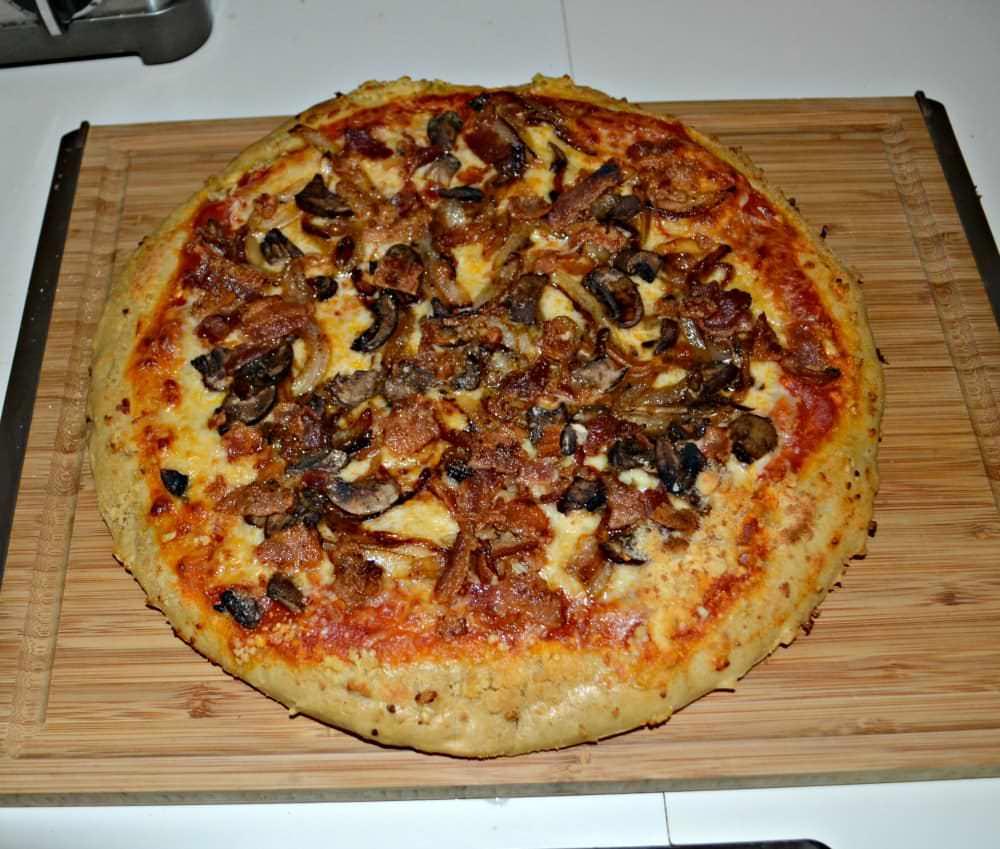 Кращі рецепти піци з грибами