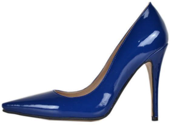 Жіночі сині туфлі: фото, з чим носити