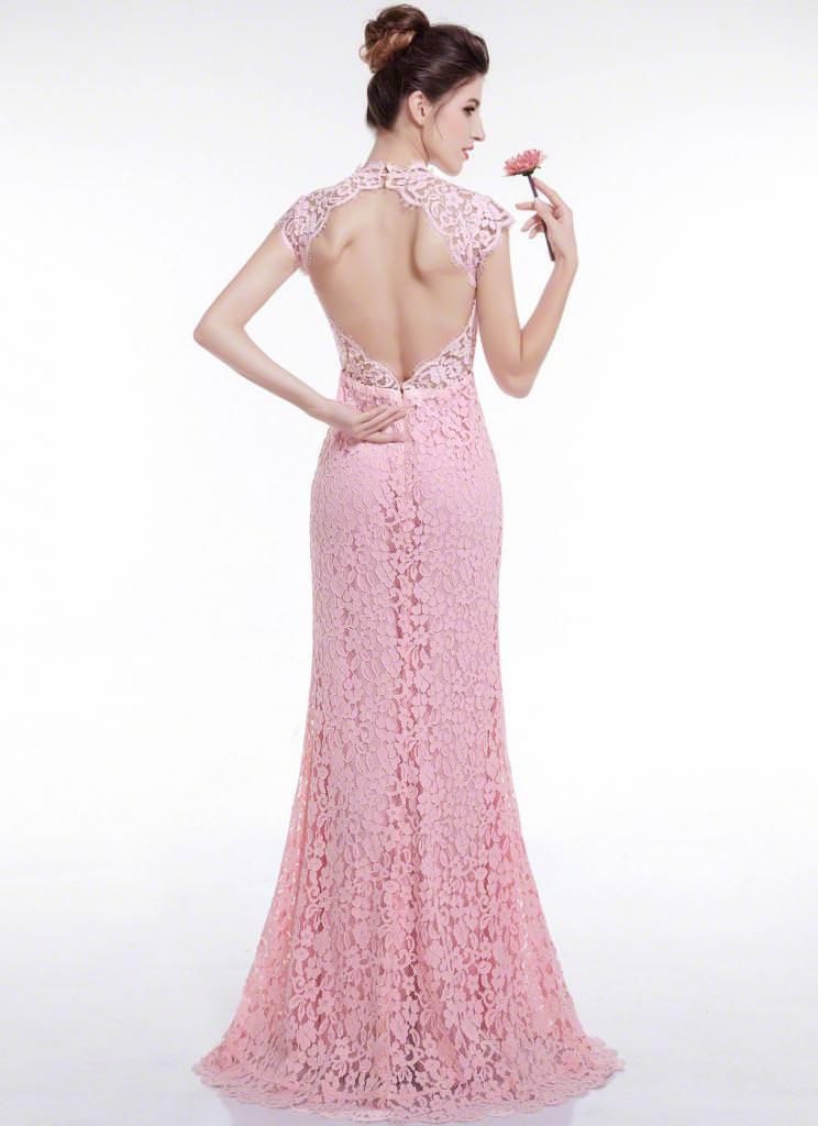 Сукні з відкритою спиною  кращі моделі (фото) 905b03b6172a8