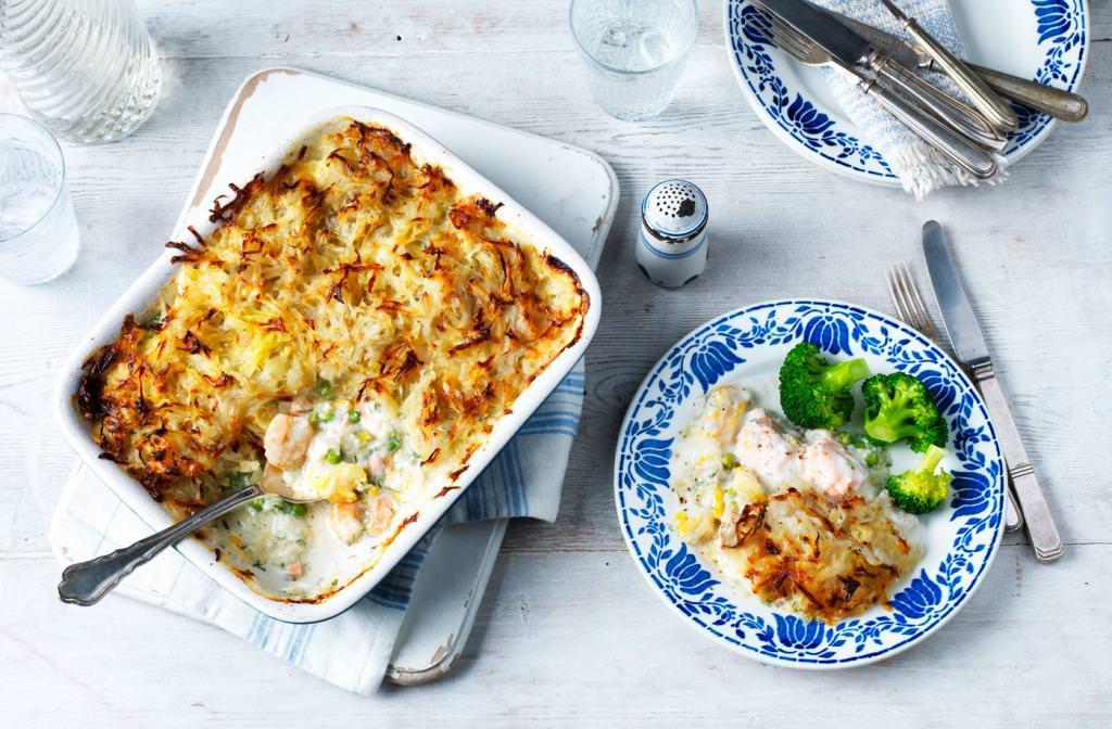 Пиріг з рибою і картоплею: рецепт з фото