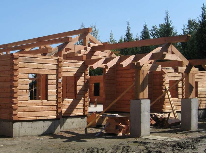 Технологія будівництва будинку з бруса своїми руками