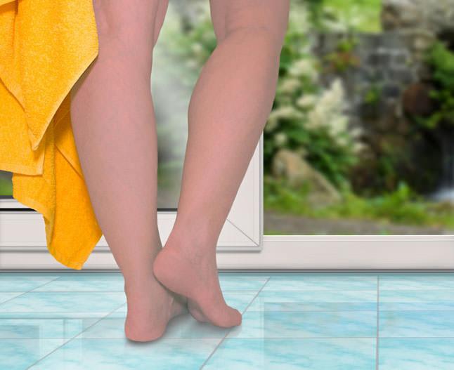 Судинні зірочки на ногах: причини і лікування
