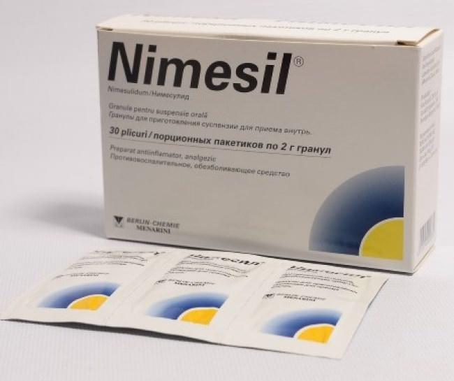 Німесил: протипоказання, інструкція по застосуванню, аналоги, склад та відгуки